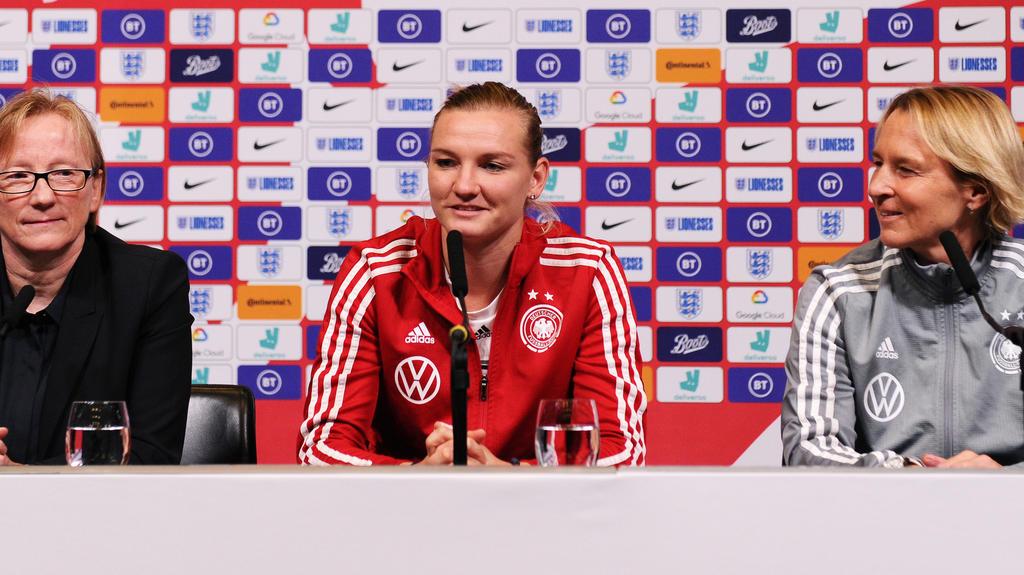 Alexandra Popp kann gegen England spielen