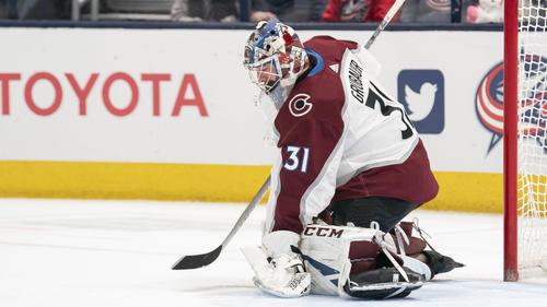 NHL-Goalie Phillipp Grubauer musste zuletzt verletzt ausgewechselt werden