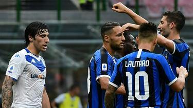Inter Mailand gewann souverän gegen Brescia