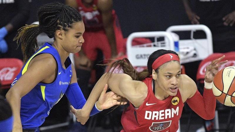 Hat mit den Dallas Wings ihr erstes Spiel in der WNBA gewonnen: Satou Sabally