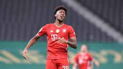 Kingsley Coman fehlte beim Training des FC Bayern