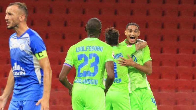Der VfL Wolfsburg meisterte die erste Hürde in der EL-Qualifikation souverän