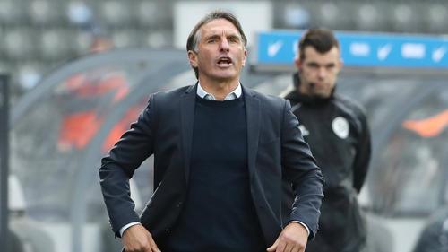 Mit Hertha BSC in der Krise: Bruno Labbadia