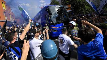 Inter-Fans feiern den 19. Meistertitel ihres Klubs