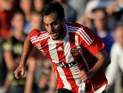 Juanmi in einem seiner ersten Spielen für Southampton