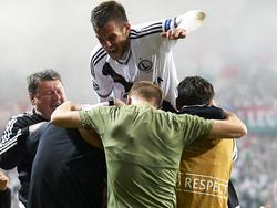 So möchten viele Legia-Fans ihre Spieler auch endlich wieder sehen