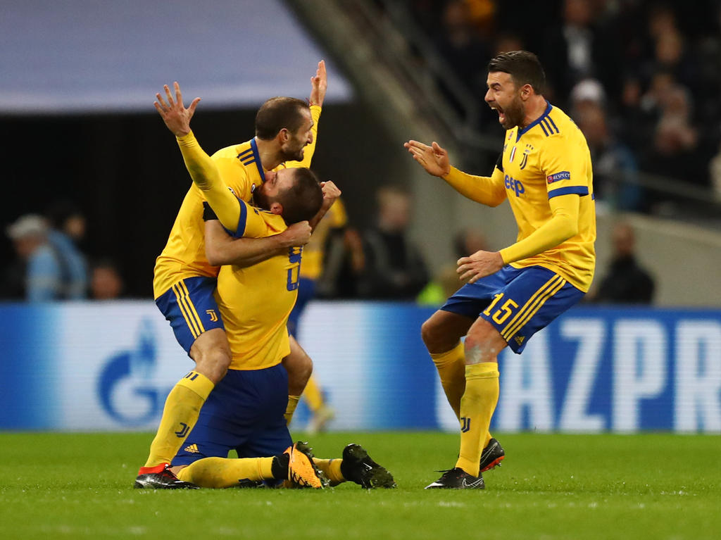 Juventus bejubelt den Einzug ins Viertelfinale