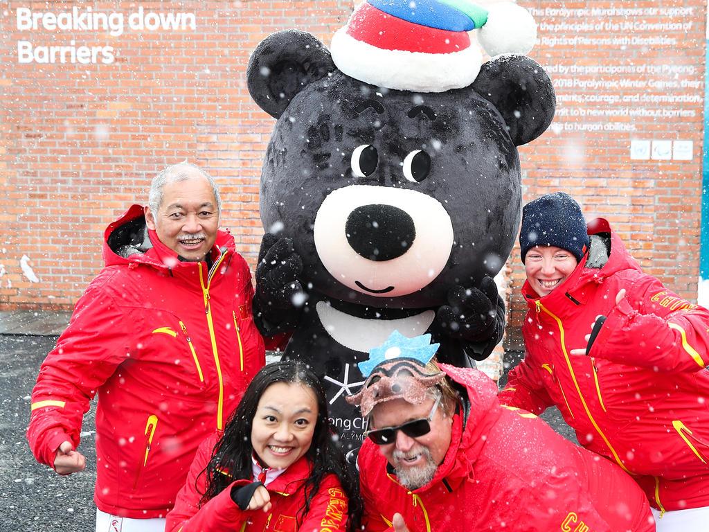 Die Paralympics in Pyeongchang ähneln thematisch der Olympiade