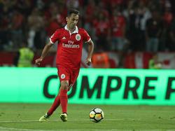 Der Brasilianer Jonas peilt mit Benfica die nächste Meisterschaft an