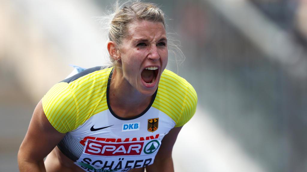 Carolin Schäfer hat sich EM-Bronze gesichert