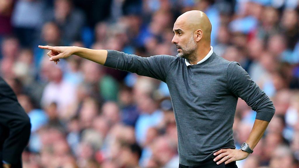 Pep Guardiola trainiert zur Zeit sehr erfolgreich Manchester City