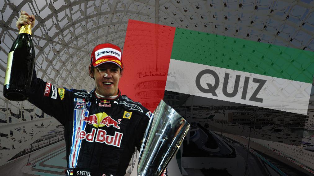 Bist Du Formel-1-Experte? Wie stehts um Dein Wissen rund um den Abu Dhabi GP?