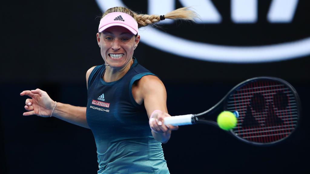 Angelique Kerber steht beim WTA-Turnier in Dubai im Achtelfinale