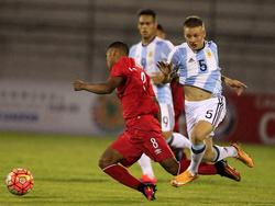 Argentina no pudo pasar del empate frente a Perú en la primera fecha. (Foto: Imago)