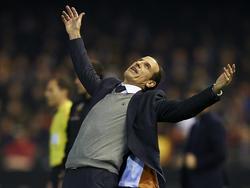 Voro retomó la dirección del  Valencia con un dura derrota. (Foto: Getty)