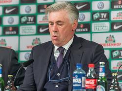 Carlo Ancelotti zeigte sich trotz des Sieges nicht zufrieden mit seinen Bayern