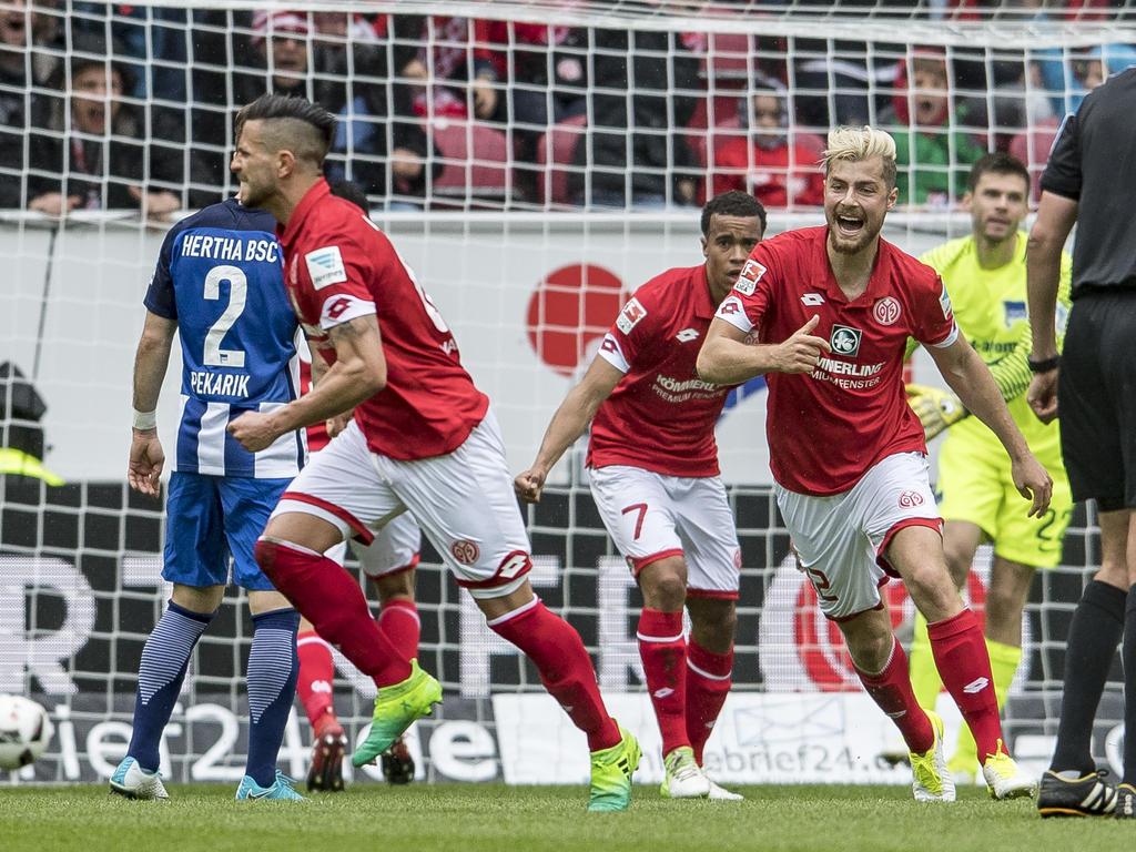 Mainz gewinnt erstmals nach fünf Spielen wieder