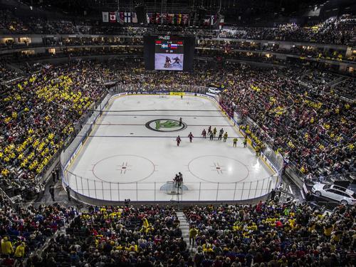 Wo wird die Eishockey-WM am Ende stattfinden?