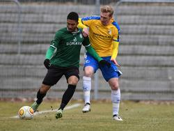 Darryl Geurts (l.) spielt fortan beim SC Paderborn