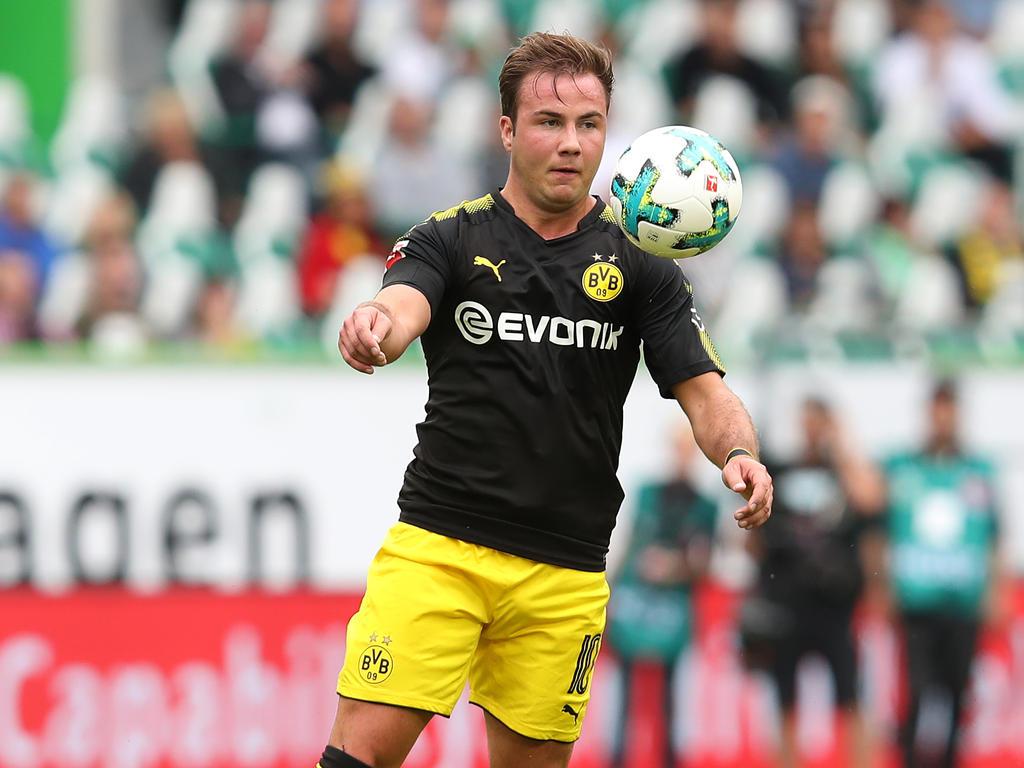 Mario Götze hat gegen den VfL Wolfsburg sein Comeback gefeiert