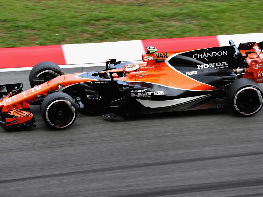 Stoffel Vandoorne bügelt Fernando Alonso, obwohl der Updates hatte