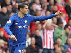 Morata no ha desplegado su mejor fútbol en la liga inglesa. (Foto: Getty)