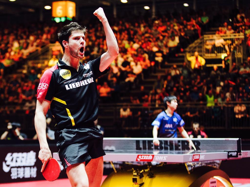 Dimitrij Ovtcharov ist in diesem Jahr der beste Tischtennisspieler der Welt