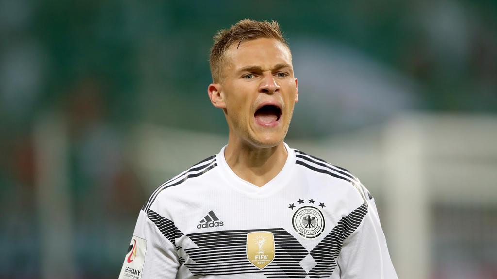 Joshua Kimmich vom FC Bayern will eine Ära im DFB-Dress prägen