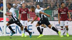 Becao marcó el único tanto del partido.