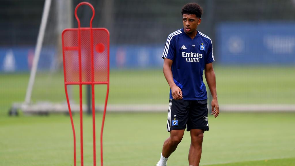 Xavier Amaechi soll für die zweite Mannschaft des HSV zum Einsatz kommen