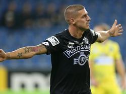 Despodov besiegelte mit einem Triplepack den Sieg für Sturm Graz