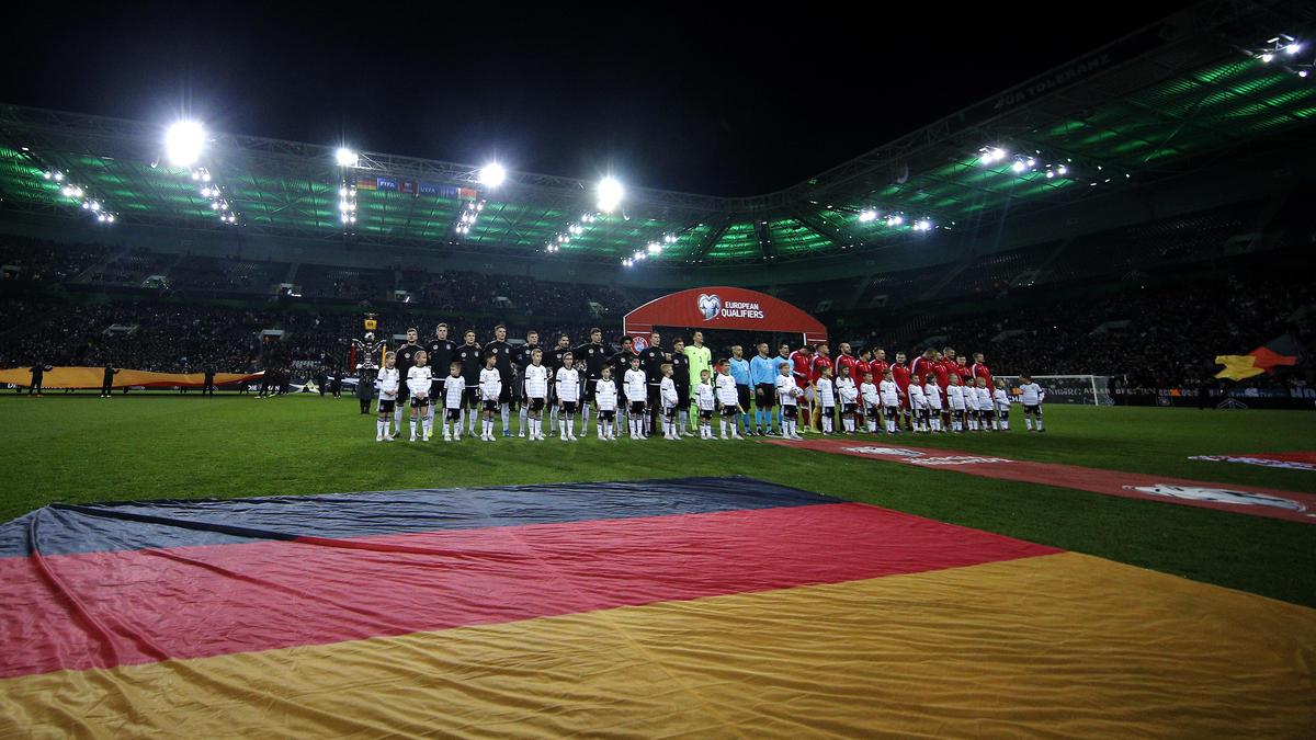 Em Vorbereitungsspiele Deutschland