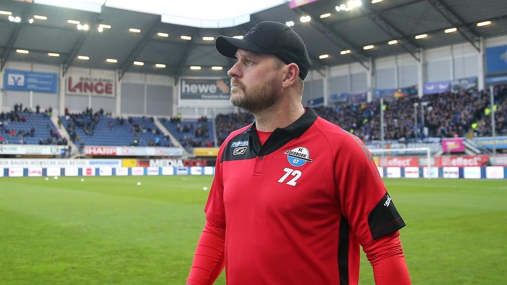 Steffen Baumgart und der SC Paderborn stehen im Tabellenkeller