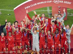 El Bayern alzó la copa del último Mundial de Clubes.