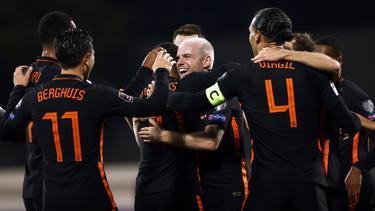Die Niederlande feierten einen Pflichtsieg