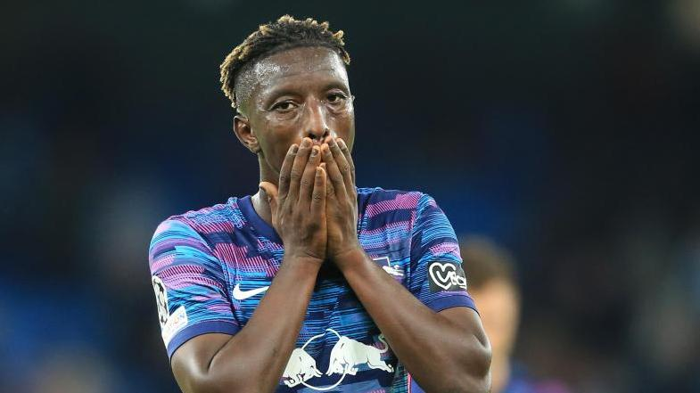 Leipzigs Mittelfeldspieler Amadou Haidara glaubt an die Wende