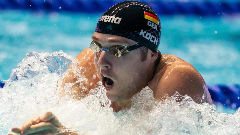 Hat seine dritte Olympia-Teilnahme im Blick: Marco Koch