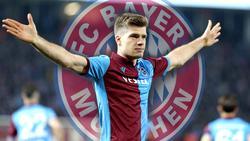 Alexander Sörloth soll beim FC Bayern auf der Liste stehen