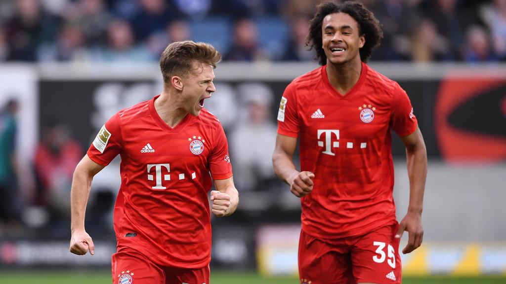 Wird in der Bundesliga bald fast ohne Kontakt gejubelt?
