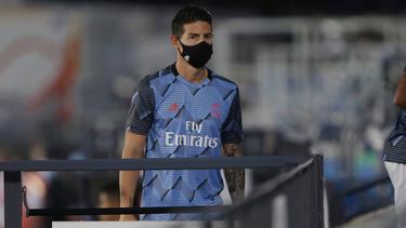 James Rodríguez hat Madrid in Richtung Liverpool verlassen
