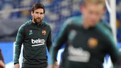 Lionel Messi trifft mit Barca auf den FC Bayern