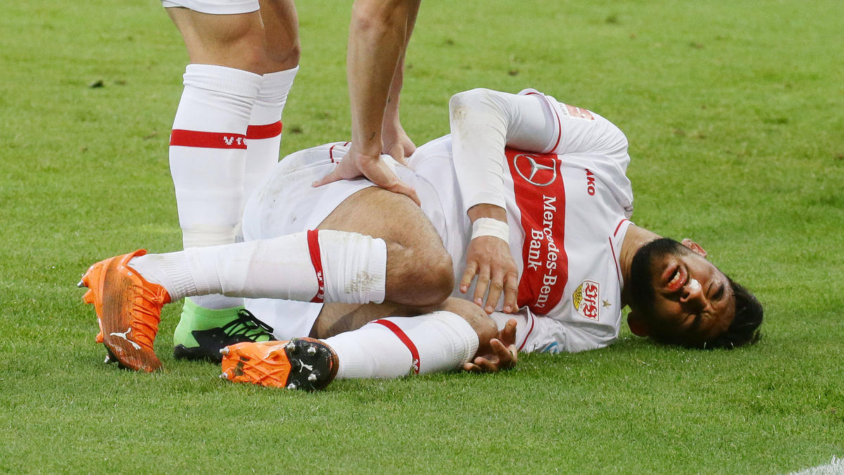 González traf und verletzte sich gegen Hoffenheim