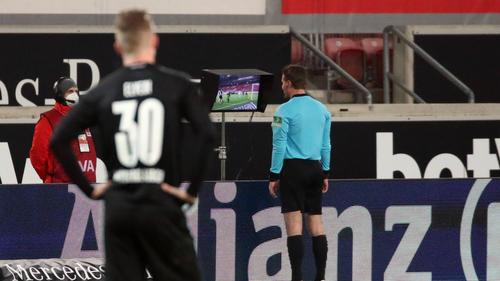 Ein VAR-Angriff sorgte für Aufsehen beim Spiel zwischen Stuttgart und Gladbach
