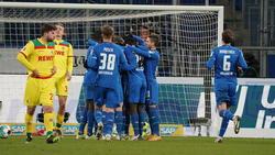 Die TSG Hoffenheim hat den 1. FC Köln deutlich geschlagen