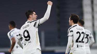 Morata traf doppelt für Juventus