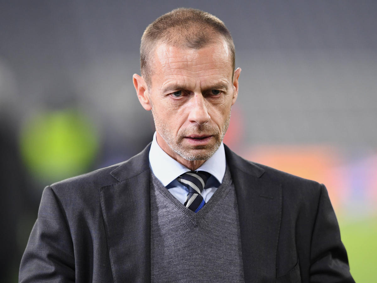 UEFA-Präsident Aleksander Ceferin hat den Einsatz der Fans bei den Protesten gegen die Super-League-Pläne gelobt