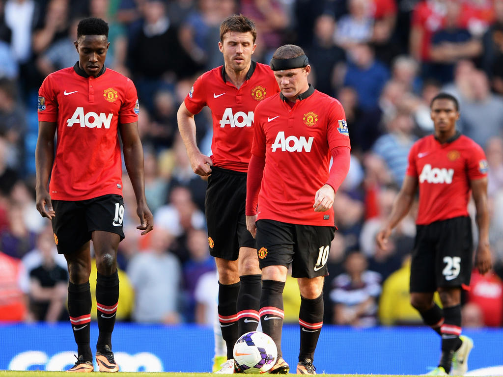 Bei Manchester United läuft es bislang noch bescheiden