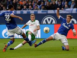 Felix Kroos erzielte gegen Schalke sein erstes Bundesligator