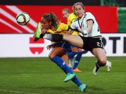 Deutschland zu stark für Brasilien