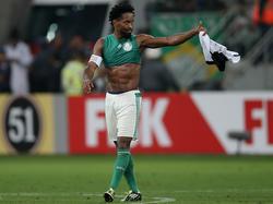 Zé Roberto ist bei Palmeiras auch mit 41 Jahren Leistungsträger